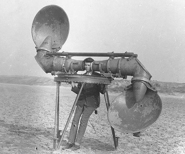 08 - 4 Pre-radar Listener For Enemy Aircraft