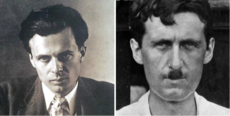 aldous huxley v george orwell which british writer is the most