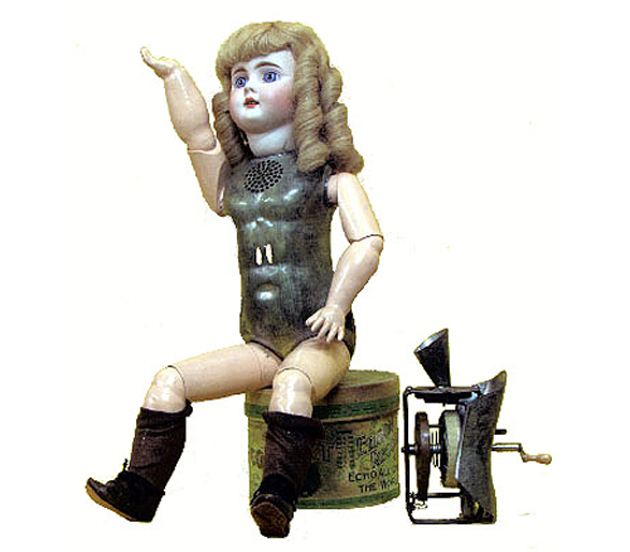 Edison's 1890 talking doll