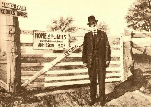 Frank at James farm