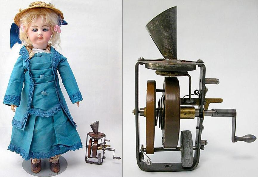 Thomas Edison's talking doll