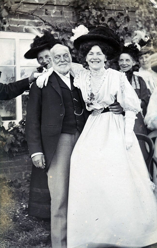 Smiling Edwardians