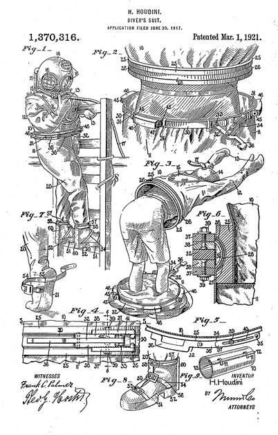 Houdini patent