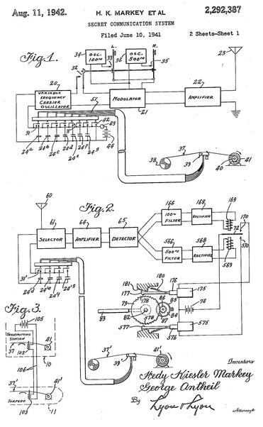 Lamarr patent