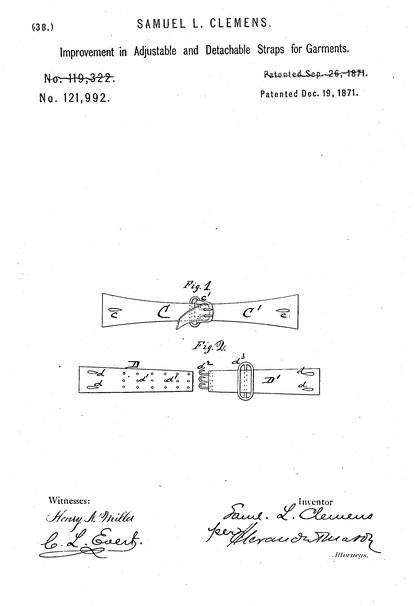 Twain patent