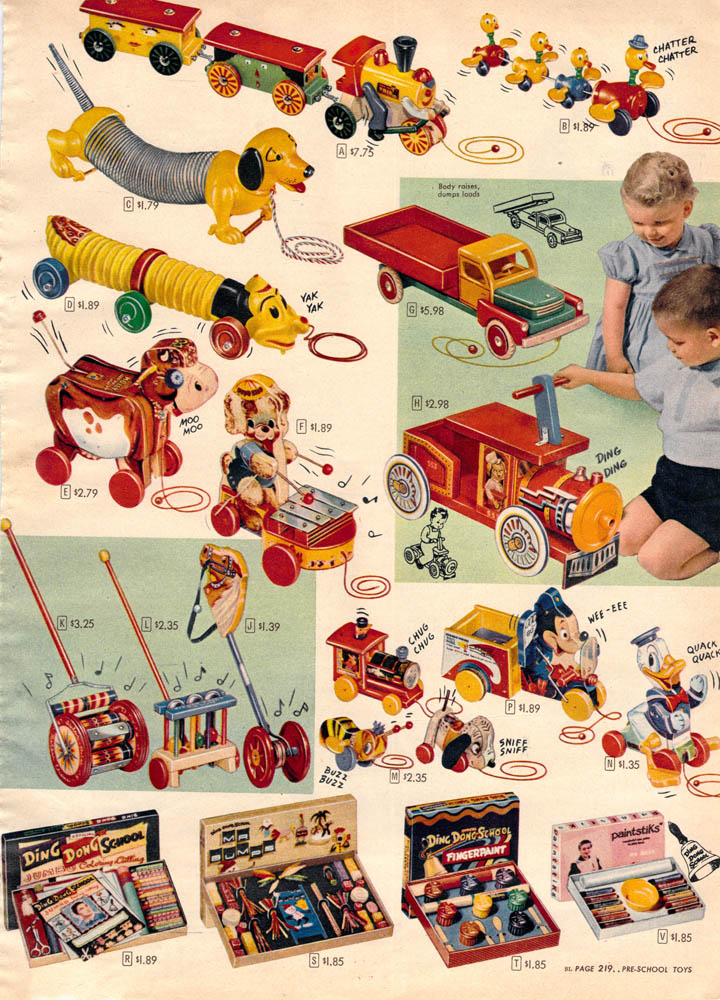 Toy Joy 50 Years Of Toys From The Sears Wish Book Whizzpast
