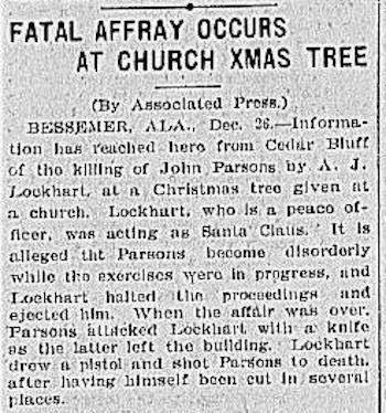 christmas affray 1903