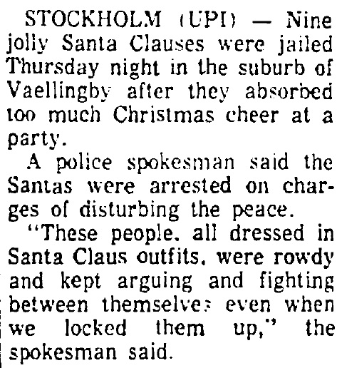 jolly santas arrested tuscon daily citizen 12 13 1968