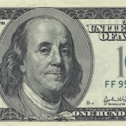 Benjamin Franklin on the 100 dollar bill.