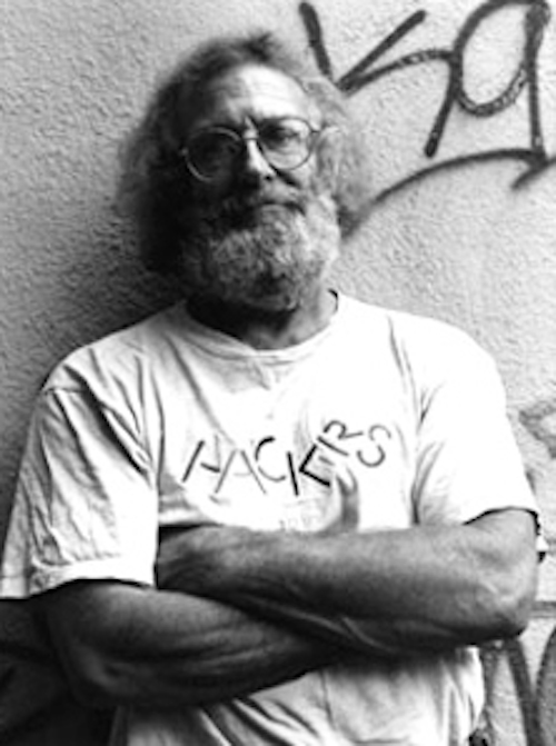 Portrait of hacker John Draper, aka Captain Crunch.