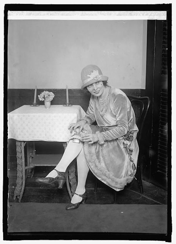 Rebel with a garter flask, 1926