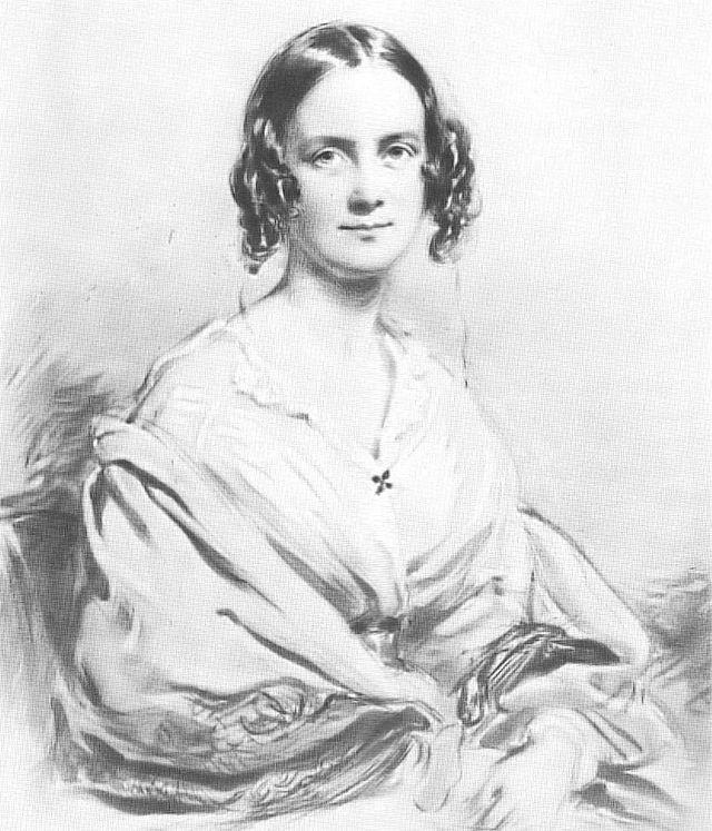 Emma, Charles Darwin's wife.