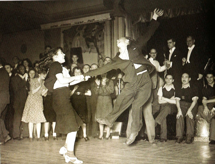 A jitterbug competition, December 16, 1939