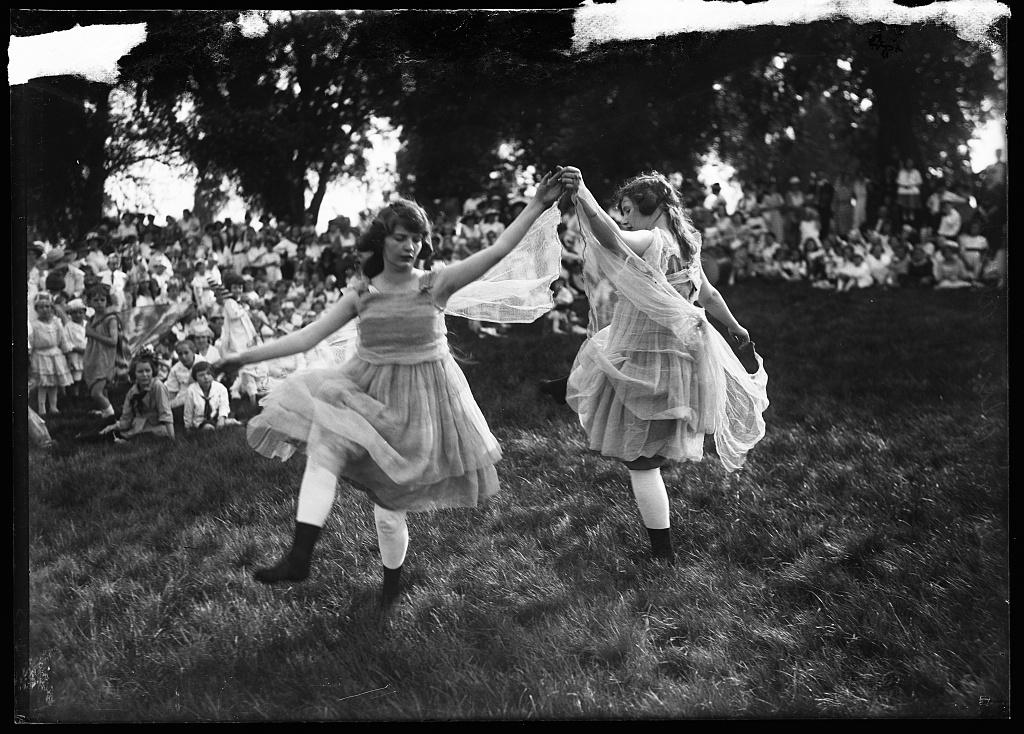 dancers, 1915