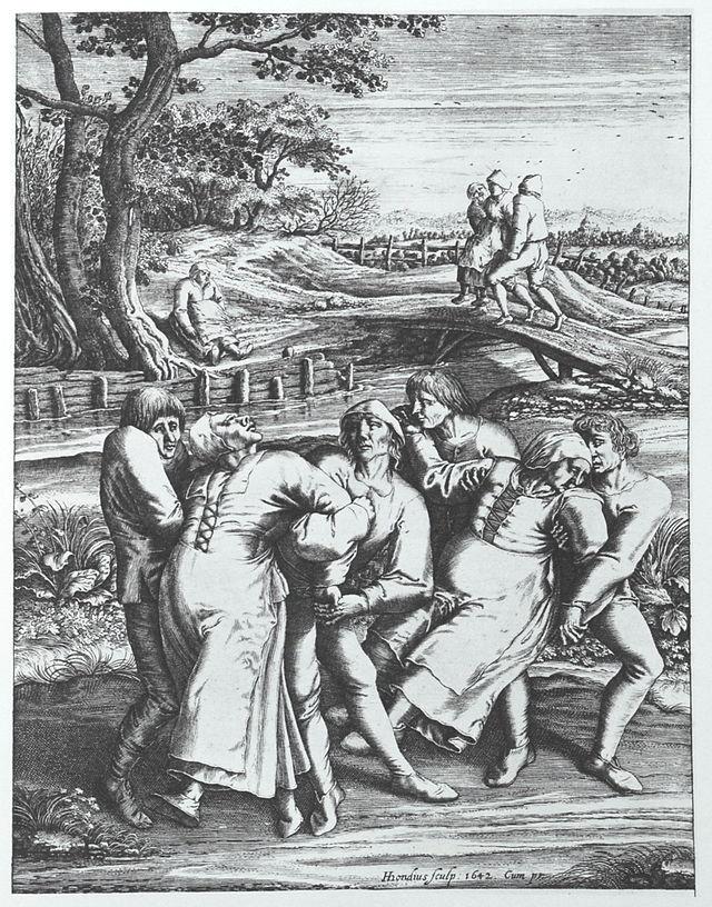 dancing mania, 1642