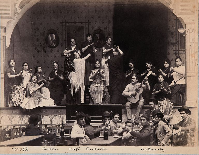 Flamenco, Emilio Beauchy, 1885