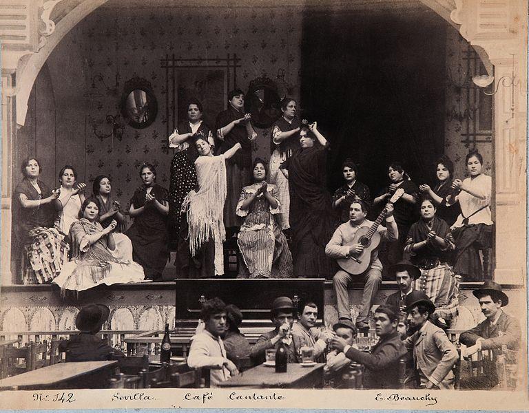 Flamenco, Emilio Beauchy, 1885