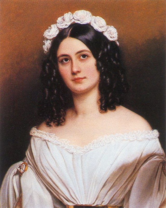 Victorian hairstyles 1840s 1