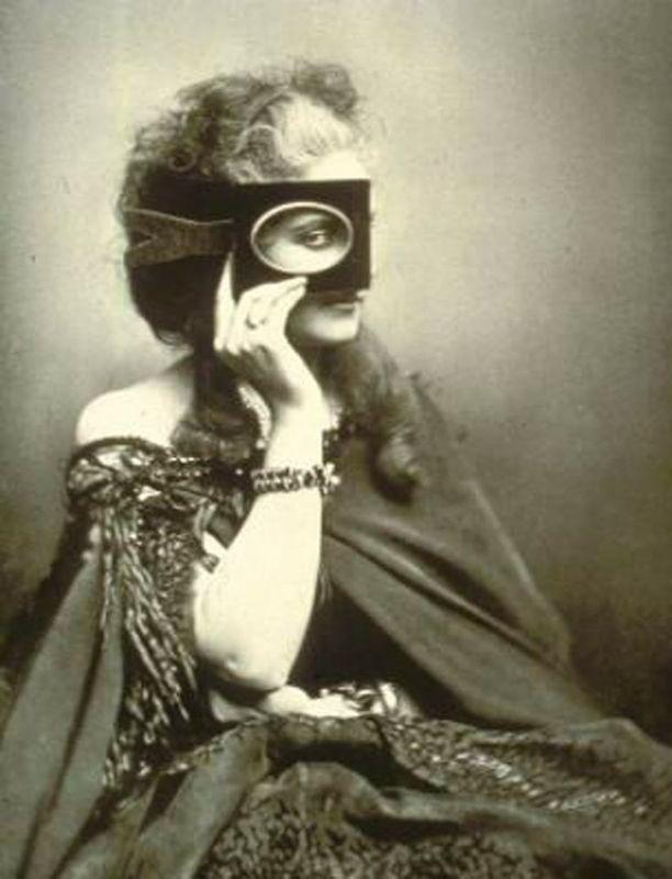 Victorian hairstyles, Countess of Castiglione