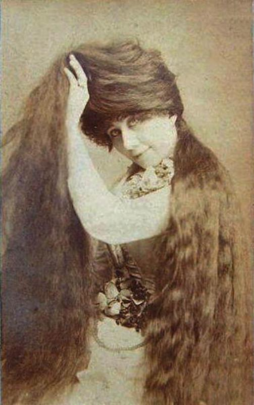 Victorian hairstyles Grace Sutherland