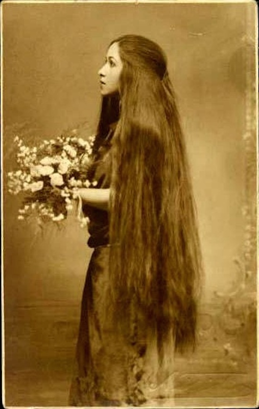 Victorian hairstyles, long 3