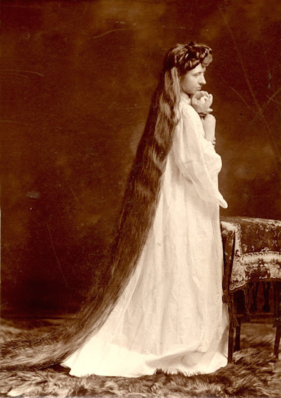 victorian hairstyles, long 5